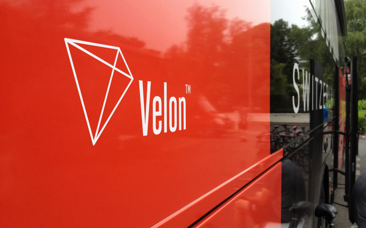 Velon Red Bus